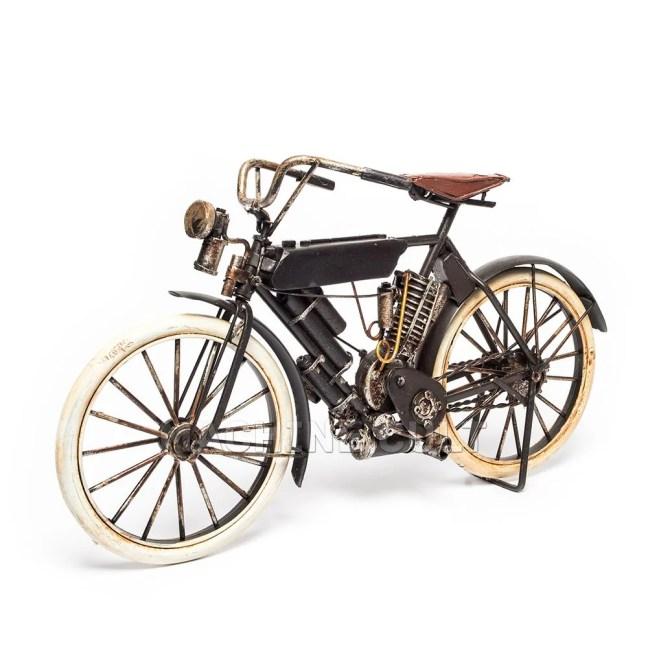 miniatura moto antiga