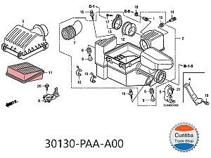 Filtro Ar Fram Ca9945 Honda Fit 1.4 2003 Em Diante