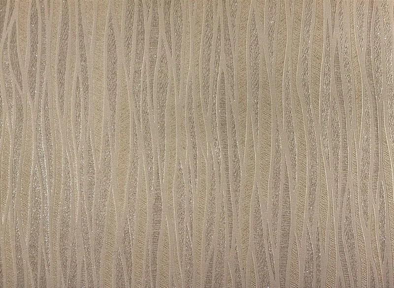 Papel de Parede Moda Em Casa Marfim com Linhas Cappuccino e Glitter  7017  Site de tecidos para sof cortinas papel de parede e mveis