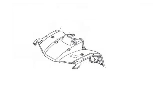 Carenagem Dianteira Honda Fourtrax 350 (2002 até 2007
