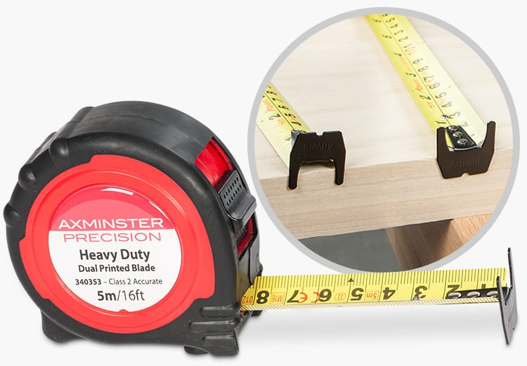 Precision Tape Measure Metric