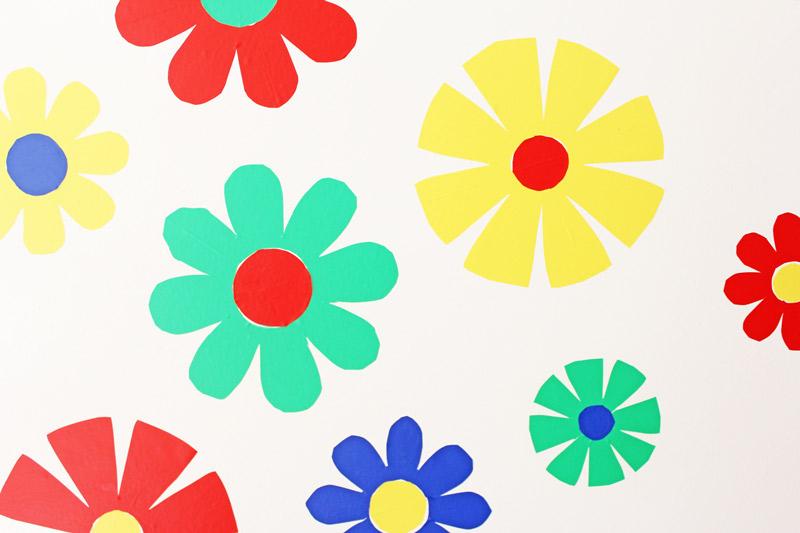 Flower Power DIY Wall Decals Babble Dabble Do