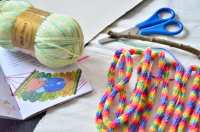 DIY: STRICKLIESEL-HNGEMATTE - DIY - Baby, Kind und Meer
