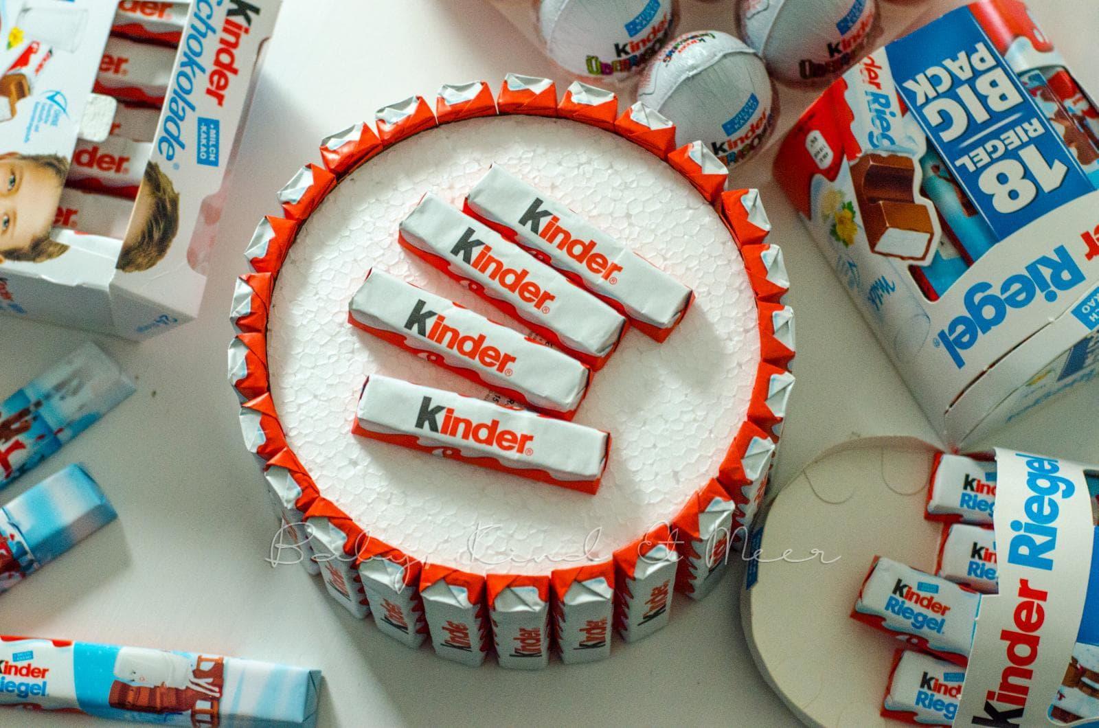 DIY TORTE AUS KINDERSCHOKOLADE  Do It Yourself