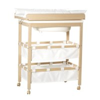 ROBA Baby Bath and Changing Table in One with Slide Away ...