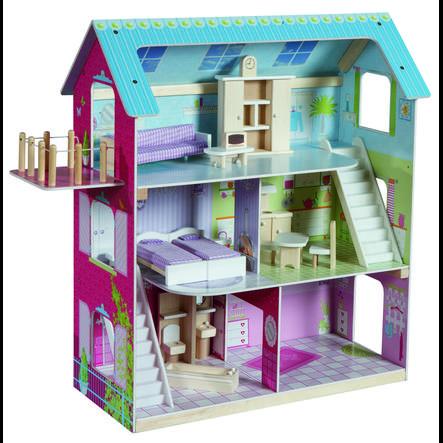 roba maison de poupee bois 9462