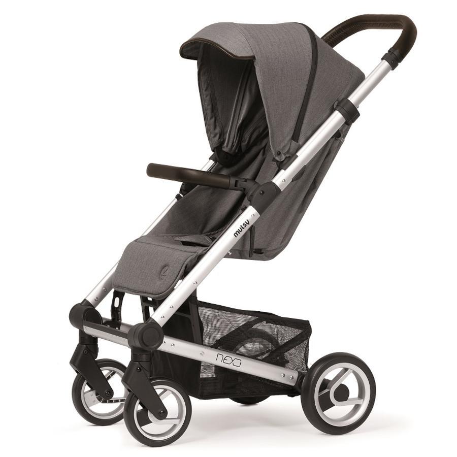 mutsy Kinderwagen Nexo Ash Melange  babymarktde