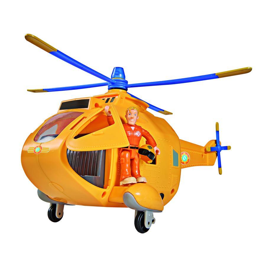 Simba Feuerwehrmann Sam - Hubschrauber Wallaby II mit