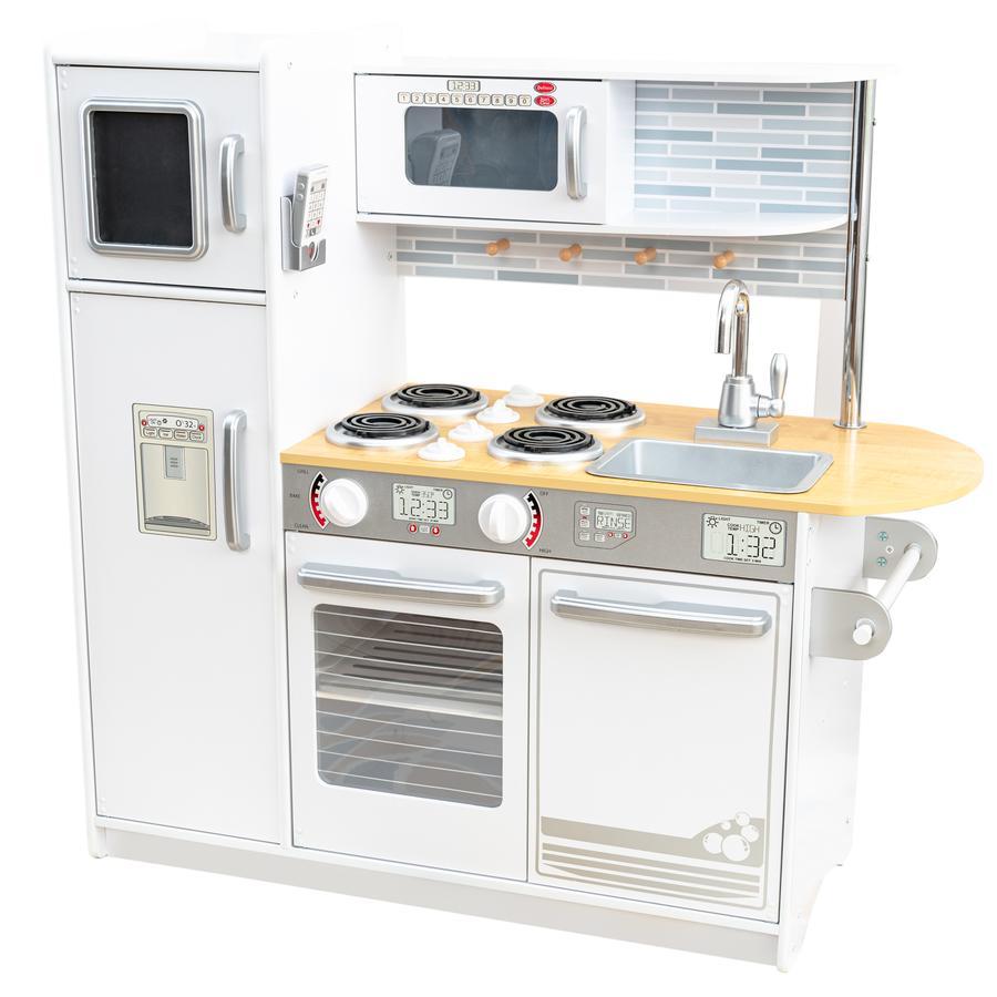 Kidkraft Cucina giocattolo uptown in legno  bianca