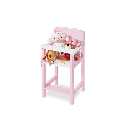 chaise haute pour poupee jasmin bois