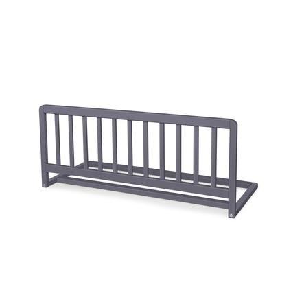 barriere de lit enfant bois gris 90 cm