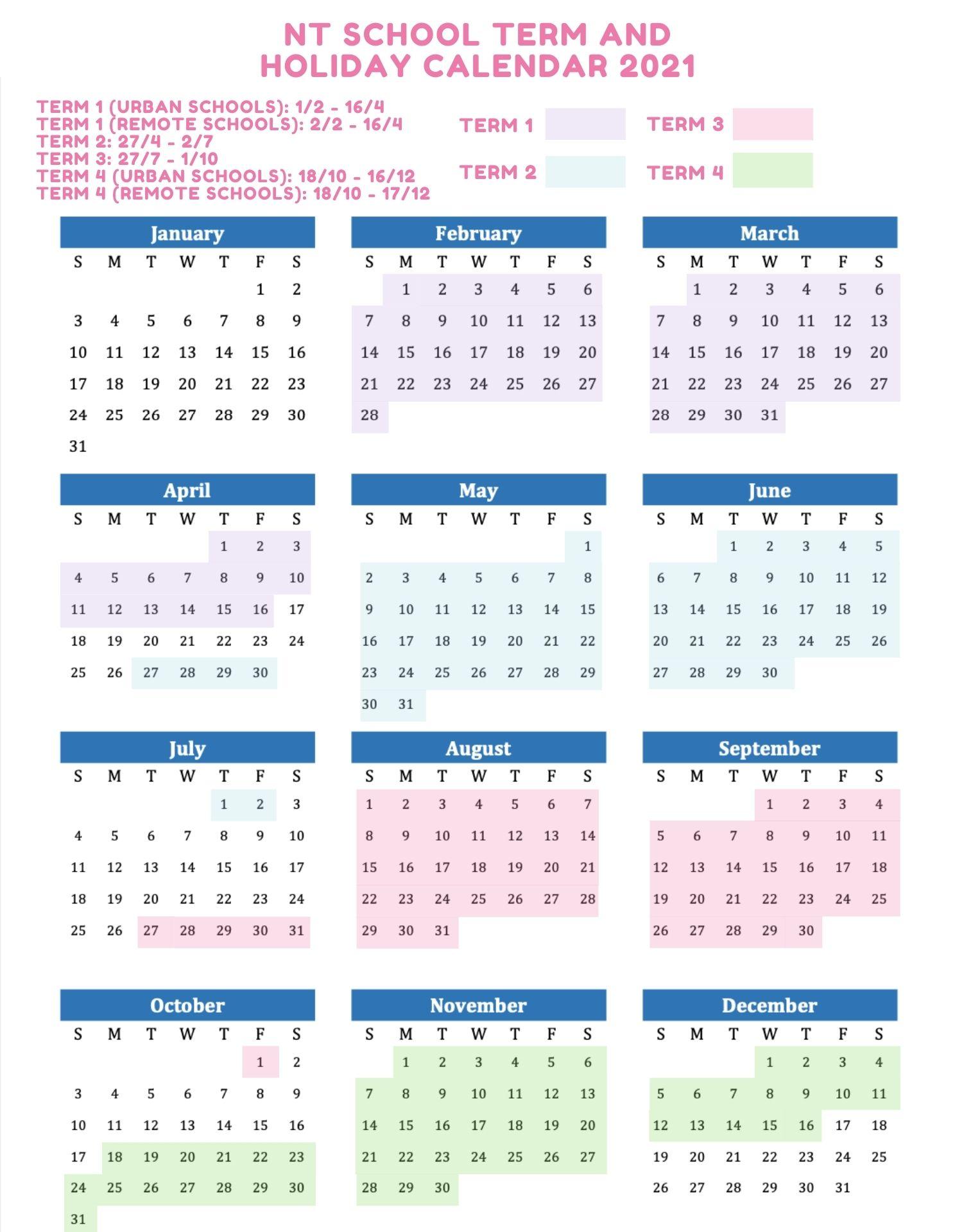 printable malaysia calendar 2022 with holidays [public. 2021 School Holidays and Term Dates Australia