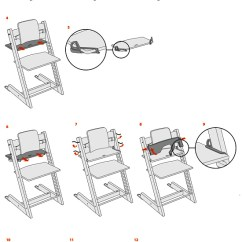 Stokke Chair Harness Milano Office Chairs Zimbabwe Tripp Trapp Instructions Back In Action D Rings Attachment
