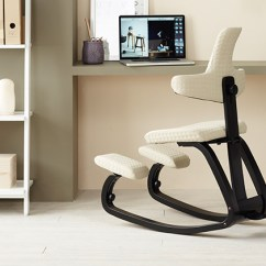 Ergonomic Chair Norway Bungee Office Chairs Kneeling Back In Action With Backrest