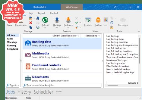 Backup4all 9.2 Build 405 Crack 2021