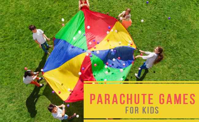 20 Best Play Parachute Games For Kids For Giant Fun