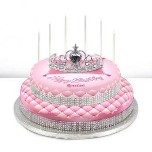 Ballerina themed cake · 2. Bakerdays Personalised Kids Birthday Cakes For Girls Bakerdays