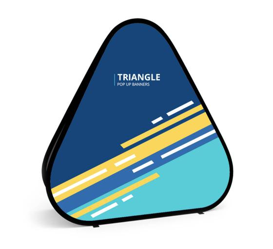 Triangle Pop Up Banner | Retractable Banner Signs | BannerBuzz
