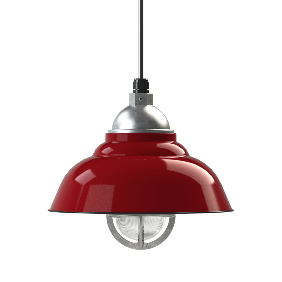 chicago vintage industrial cord hung pendant light