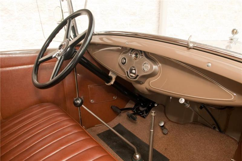 1931 Ford Model A Roadster Interior 125207