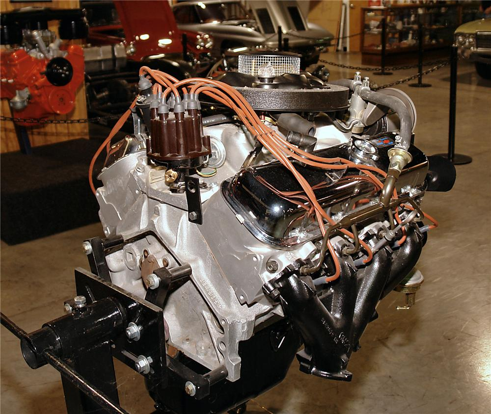 hight resolution of 1969 chevrolet engine rear 3 4 137623