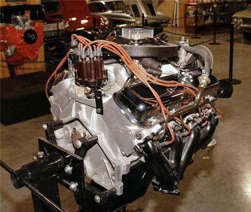 small resolution of 1969 chevrolet engine rear 3 4 137623