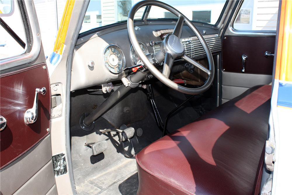 1948 CHEVROLET 1 TON STAKE BED TRUCK 152103