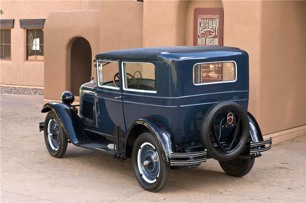 1928 CHEVROLET NATIONAL AB 2 DOOR COACH  161623