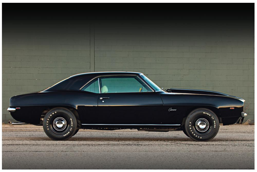 1969 Chevy Camaro Ss Side View