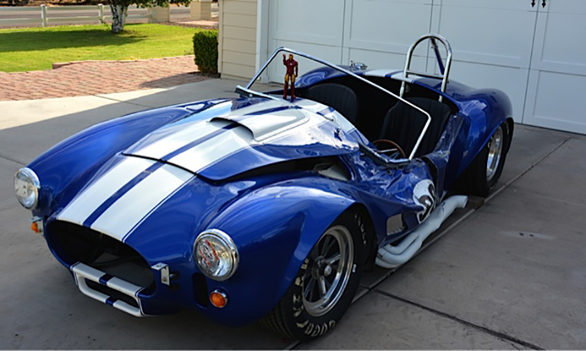1965 SHELBY COBRA RE CREATION ROLLING CHASSIS178492