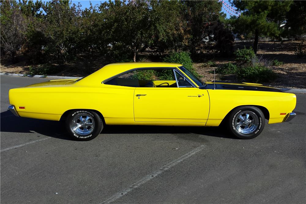 1969 Plymouth Road Runner Paint Codes