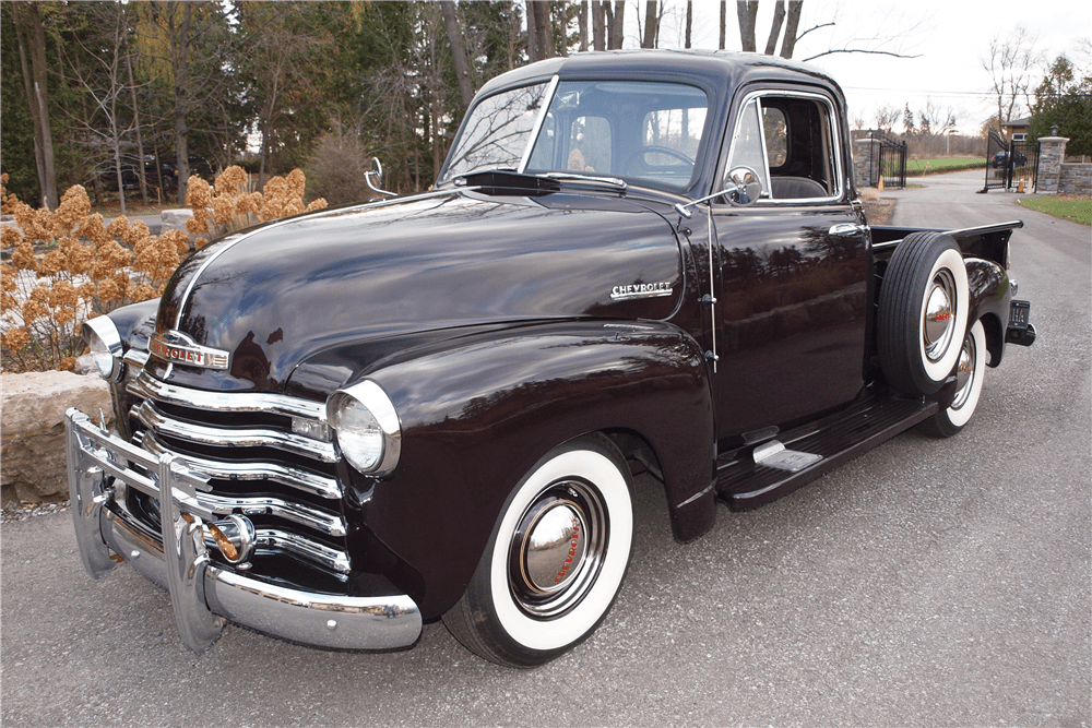 1953 5 Window Chevy Pickup Truck
