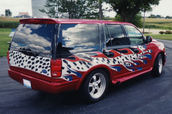 Ford Lowered 2000 Expedition
