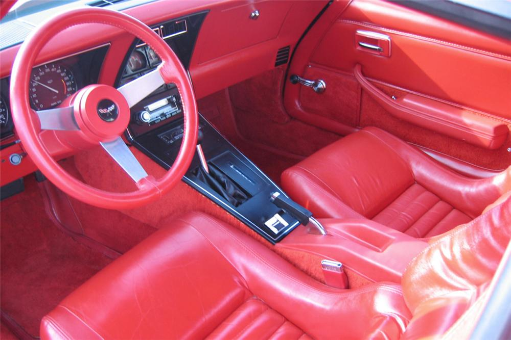 1979 CHEVROLET CORVETTE L82 T TOP 22442
