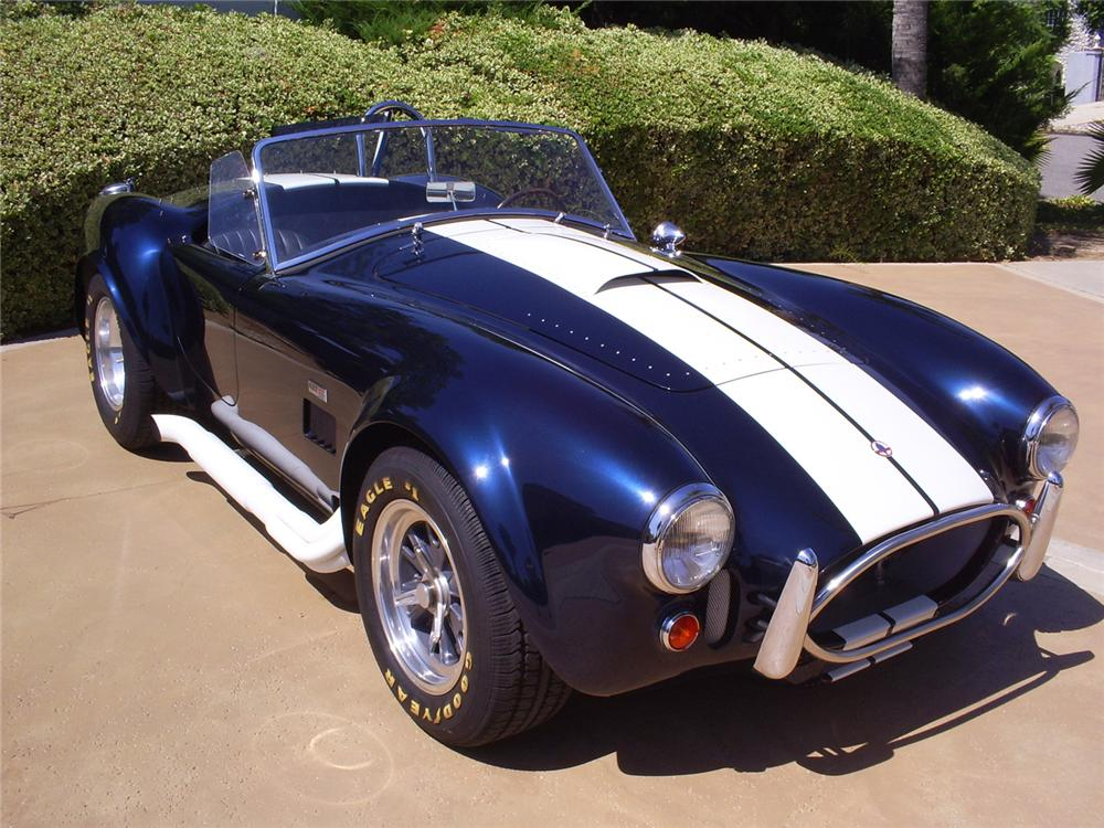 1965 SHELBY COBRA ROADSTER RE CREATION 60975