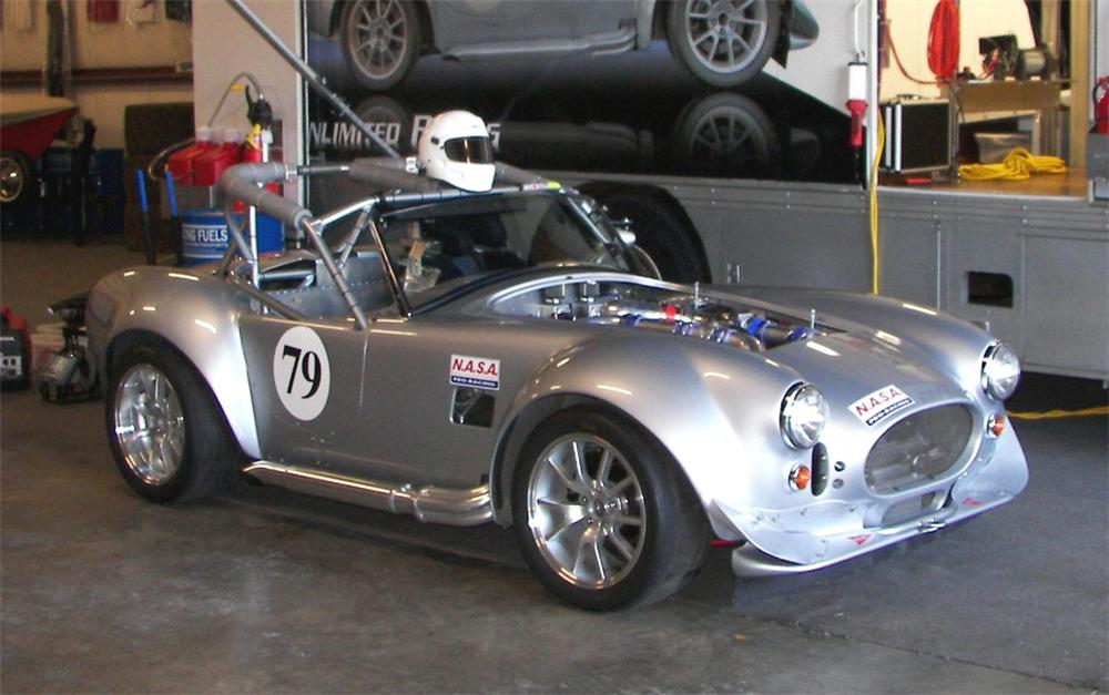 1965 FACTORY FIVE SHELBY COBRA RE CREATION ROADSTER RACE CAR 75270