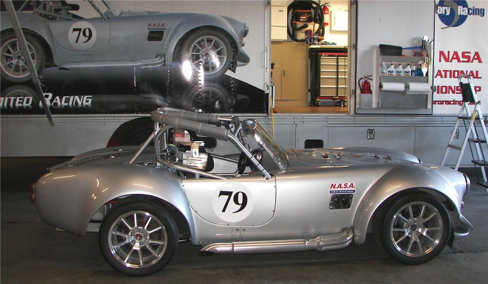 1965 FACTORY FIVE SHELBY COBRA RE CREATION ROADSTER RACE