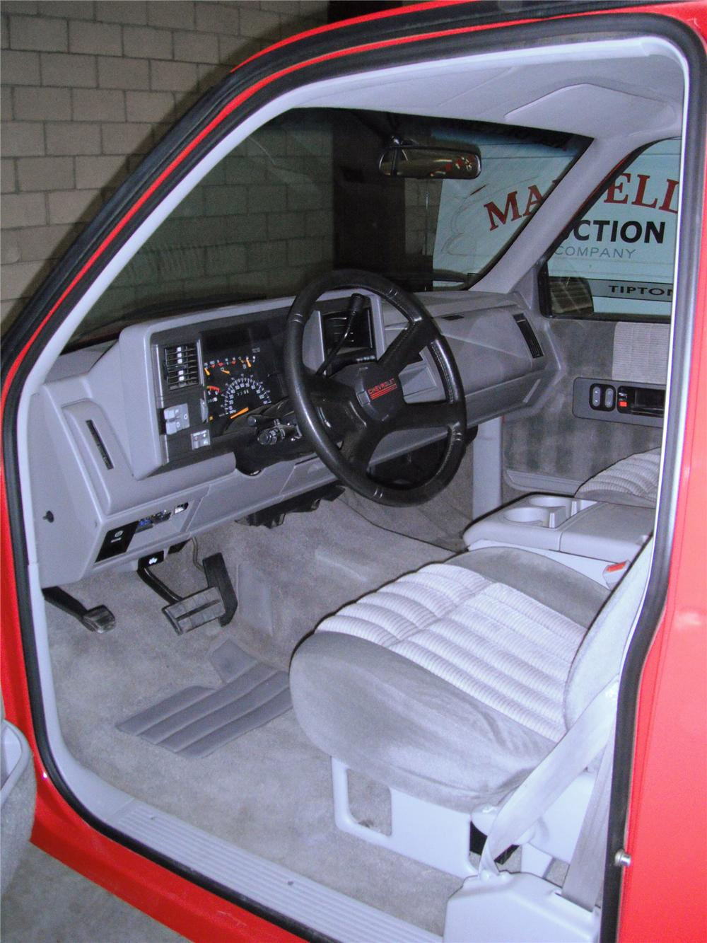 hight resolution of 1993 chevrolet 1500 1 2 ton pickup interior 93689