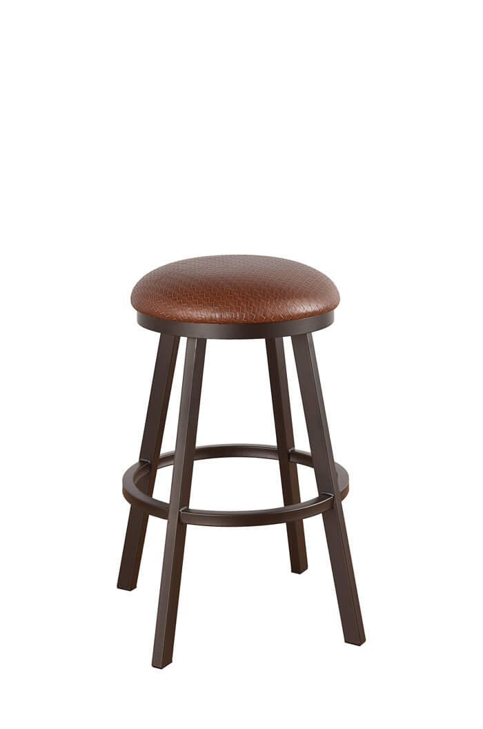 backless chair height stool home goods dining cushions callee - claremont swivel stool, 24 | 26 30 34