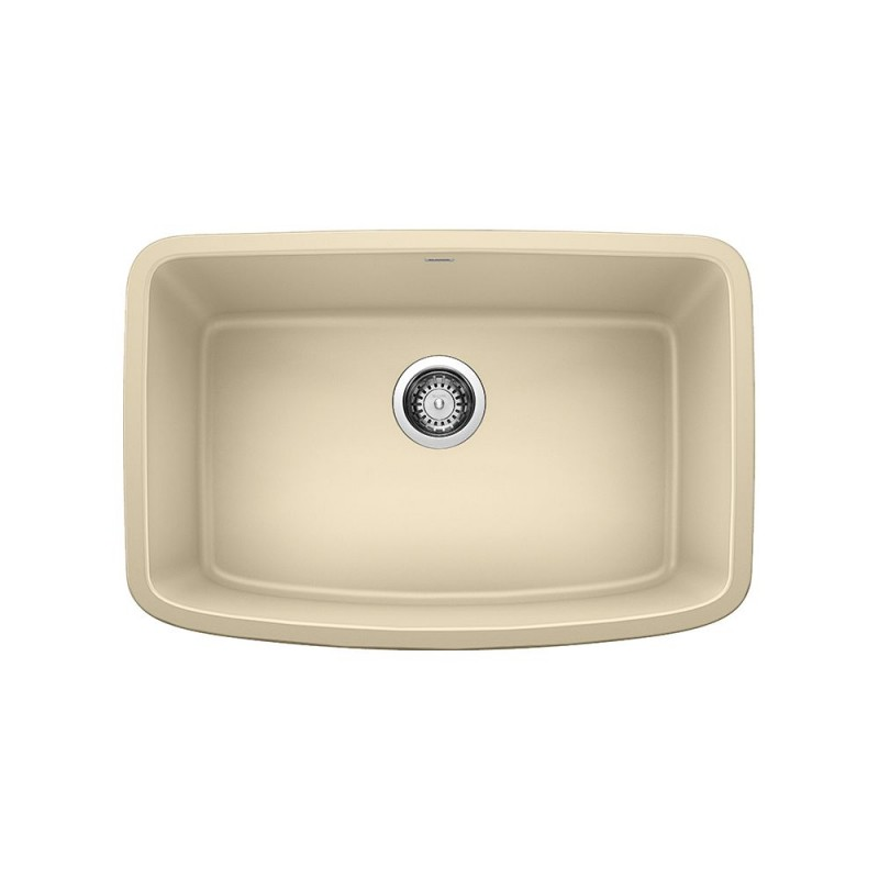 27 kitchen sink metal outdoor cabinets blanco valea 18 in x granite biscotti 442550 sale
