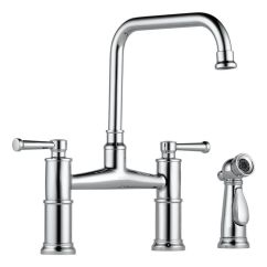 Brizo Kitchen Faucet Buy Metal Cabinets Artesso Deck Mounted In Chrome 62525lf Pc Sale