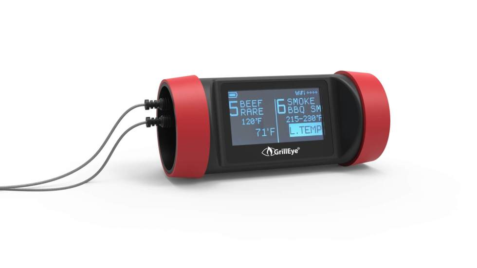 grilleye pro plus grillEye PRO Plus Dual Probe F-GrillEye Pro Plus & # 8211;  Test of WiFi & # 038;  Bluetooth grill thermometer