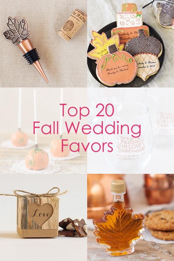 Top Bridal Shower Favors