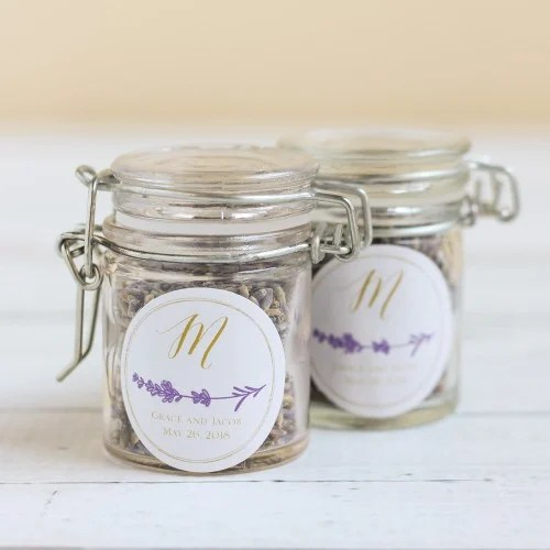 Mason Jars With Glass Lids
