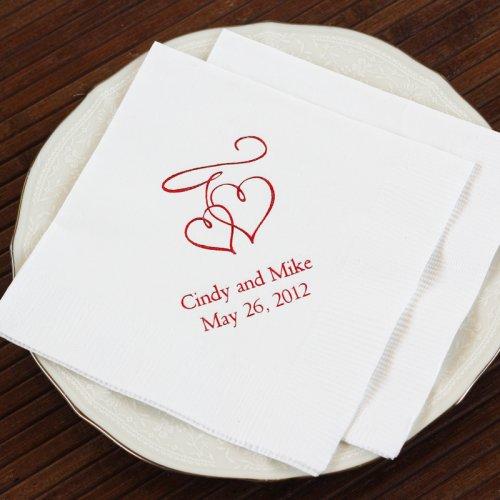 Personalized Bridal Napkins