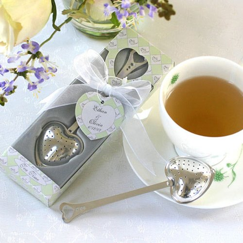 Personalized Tea Time Heart Shaped Tea Infuser