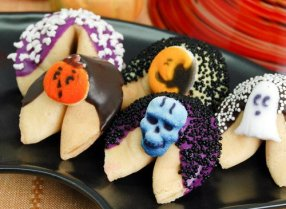 Halloween Fortune Cookies
