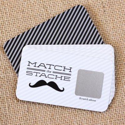 Mustache Scratch Cards Game