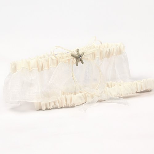 Wedding Garter, Beach Themed Wedding Garter, Beach Garter