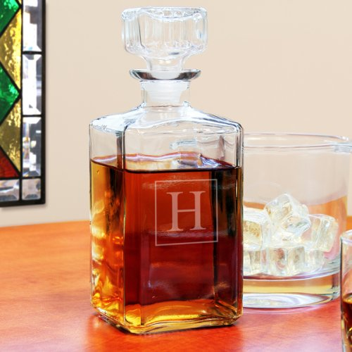 Personalized Glass Decanter Glass Decanter Personalized